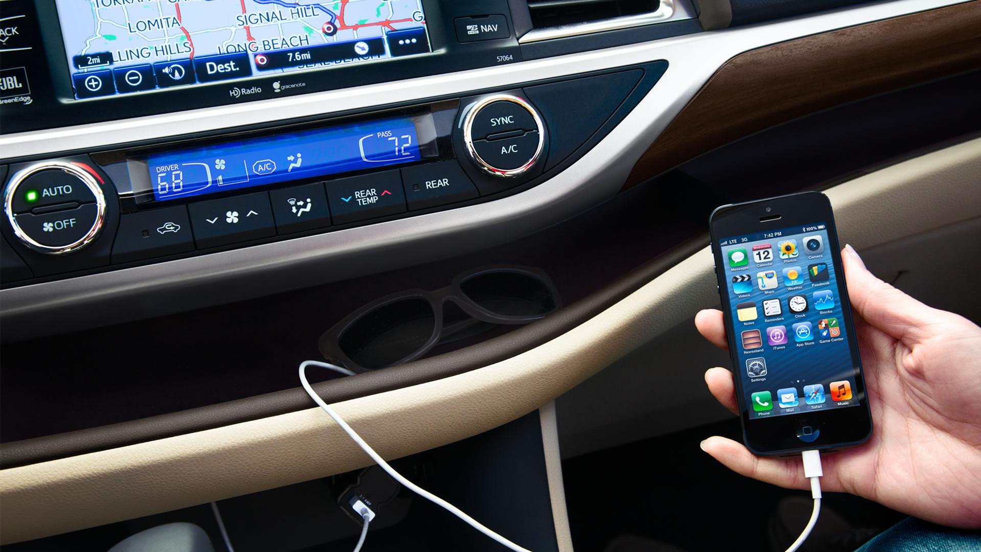 Мультимедиасистема Toyota Highlander 2014