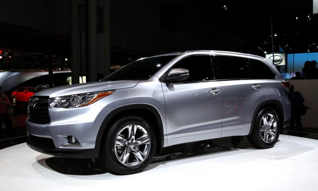 III поколение Toyota Highlander