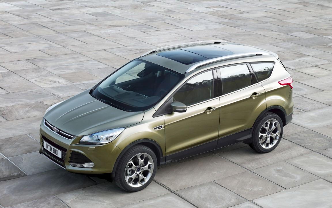 Обновленный дизайн Ford Kuga 2014
