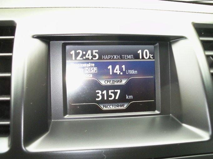 Бортовой компьютер Toyota Highlander