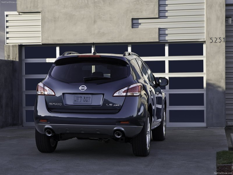 Элегантный стиль кормы Nissan Murano 2014