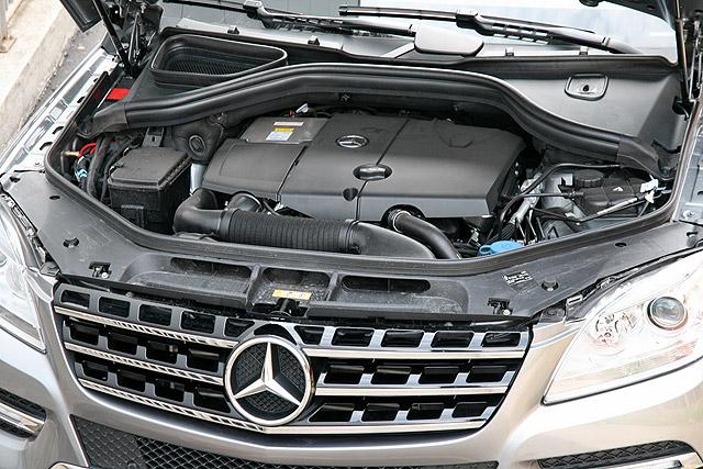 Новое поколение моторов ML 250 BlueTec