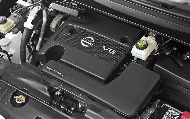 Единственный вариант силового агрегата Nissan Pathfinder 2014