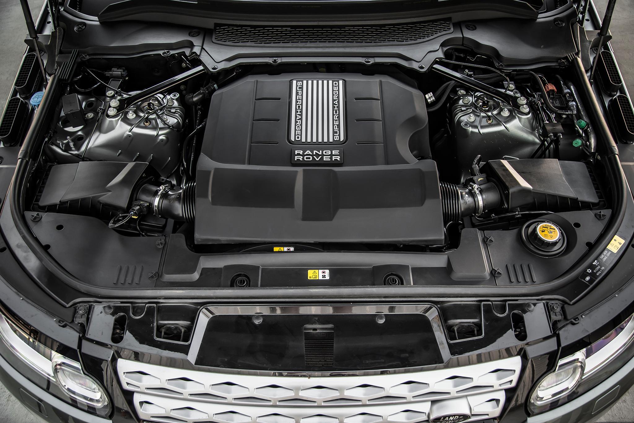 Бензиновый V8