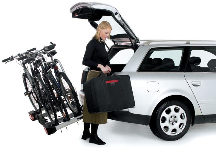 Не помешает достать вещи из багажника