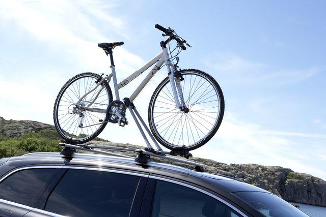 Крепление за раму велосипеда