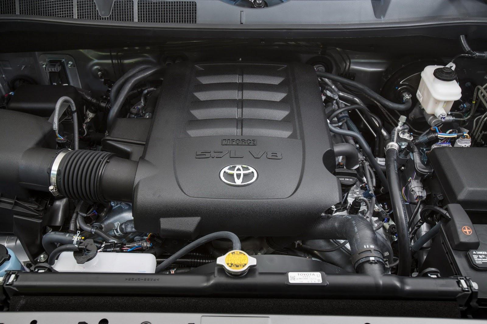 Топовая версия двигателей Тойота Тундра 2014